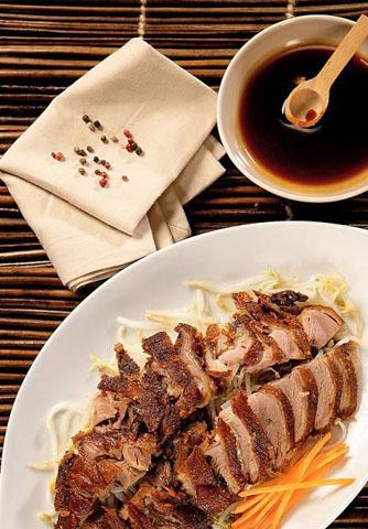 Китайское блюдо утка по пекински