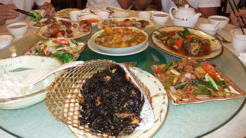 Фотография национальной китайской еды