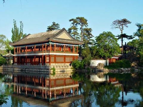 фотография императорского парка