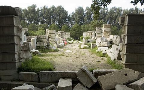 Сад совершенной ясности руины
