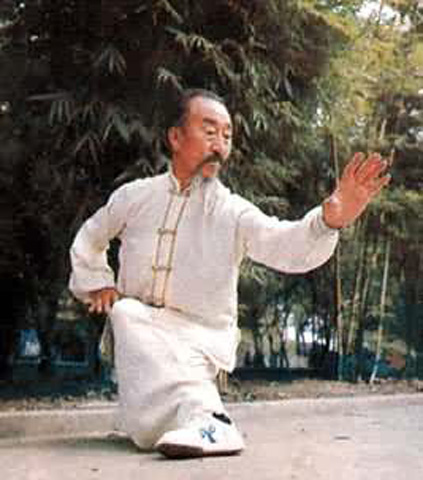 Фотография пожилого мастера синьицюань