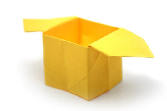 Сабо, коробочка из бумаги, оригами