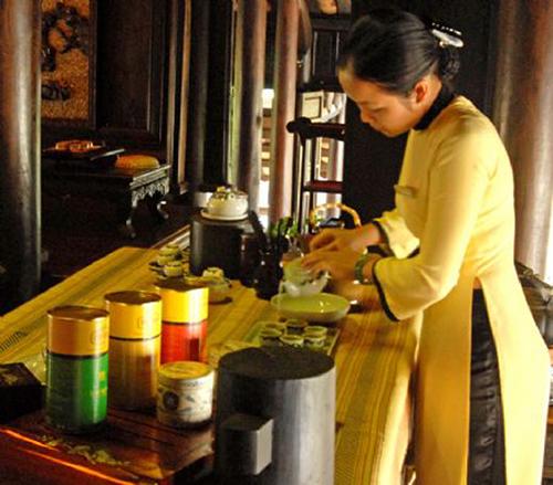 Демонстрация чайной церемонии