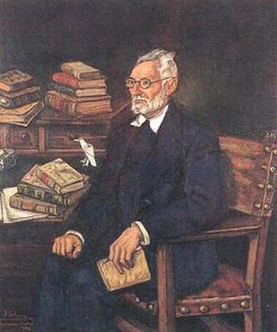 Портрет Мигуеля Унамуно