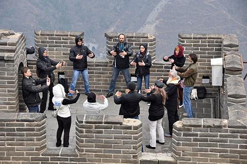 Медитация на Великой Китайской Стене