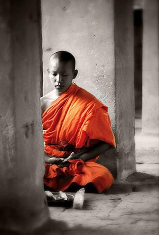Портрет шаолиньского монаха