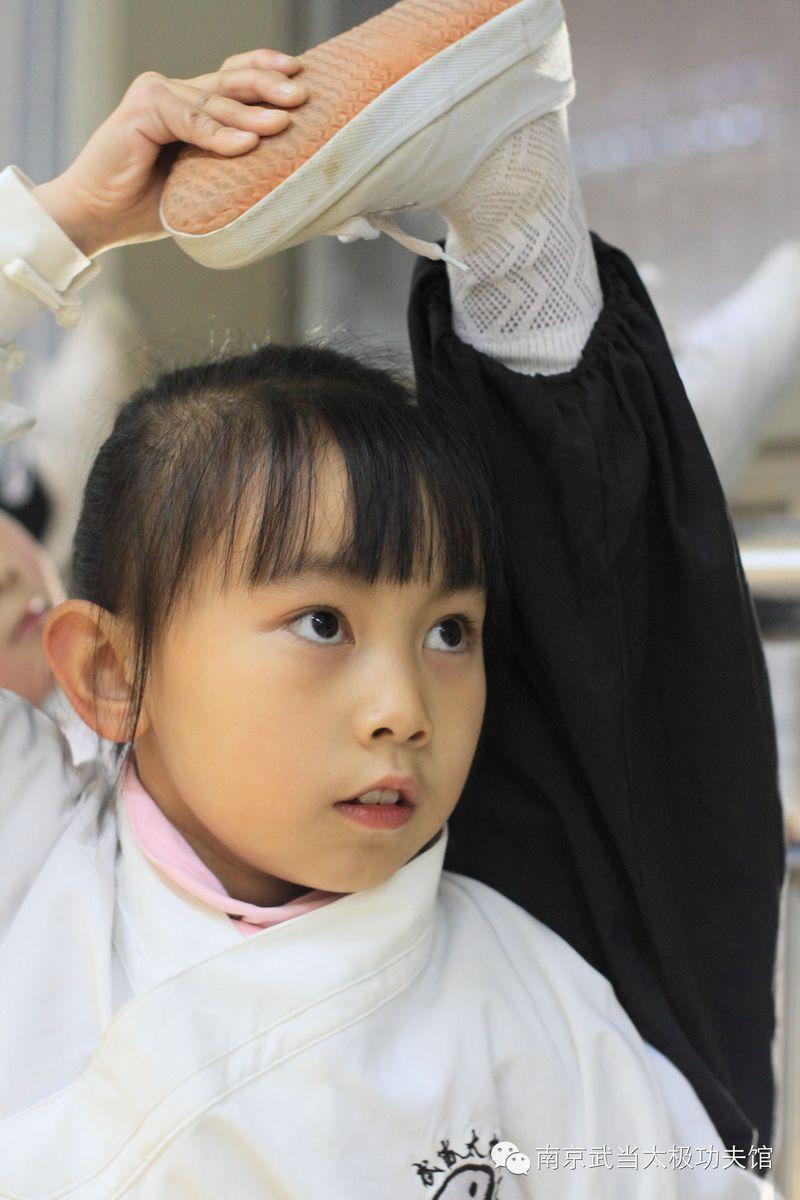 тренировка по ушу