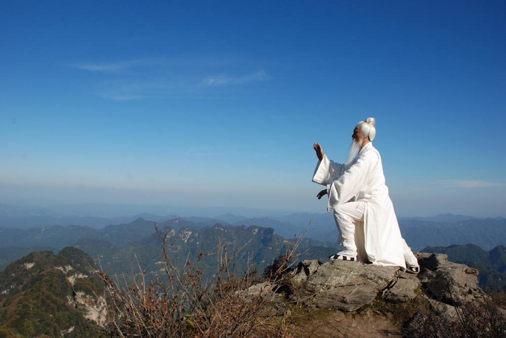 зантятия Цигун на высокой горе