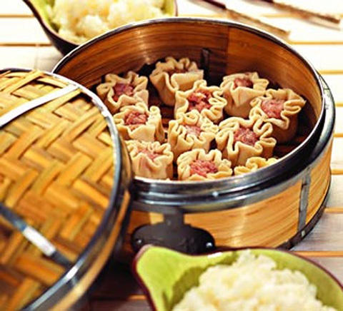 Фотография китайских пельменей
