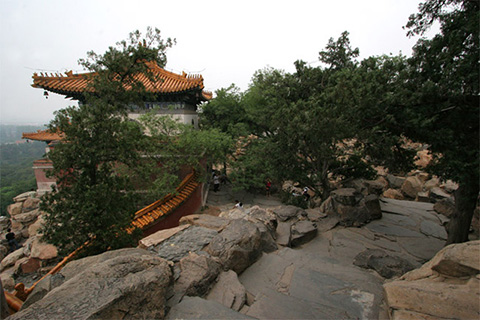 пекинском парк Ихэюань