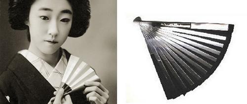 Веер «сэнсу-тэссен» из тонкой пропитанной ядом бумаги, которая трудно рвется, но режет как лезвие.