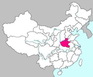 Провинция Хэнань на карте