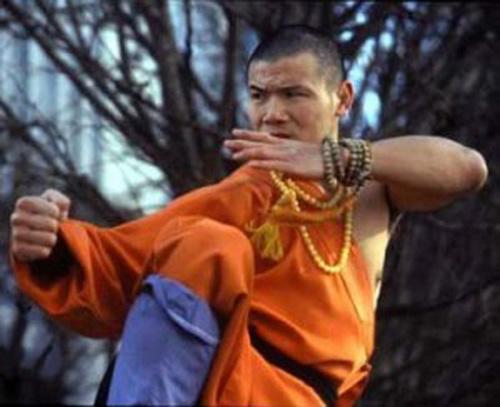 Фотография монаха шаолиня