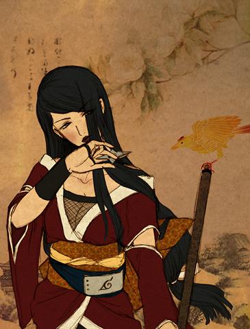 Картинка девушки ниндзя