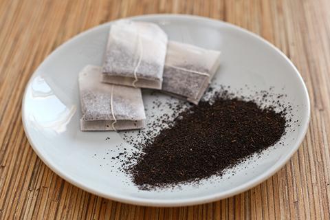 пакетики чая, содержимое пакетированного чая