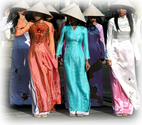 Фотография вьетнамских девушек
