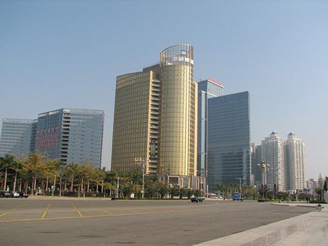 Небоскребы в Китае