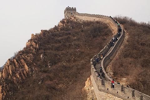 Фотография Великой Китайской Стены
