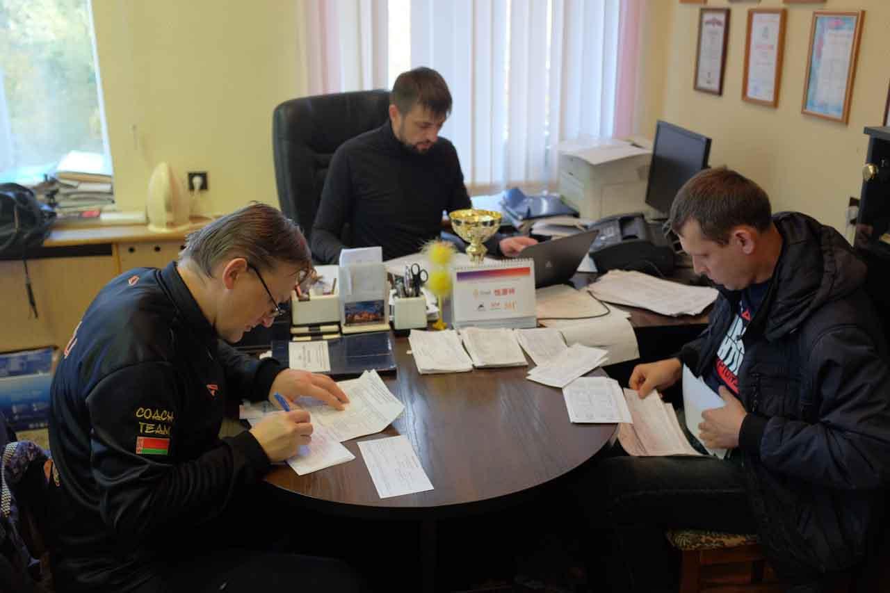 Члены федерации в работе