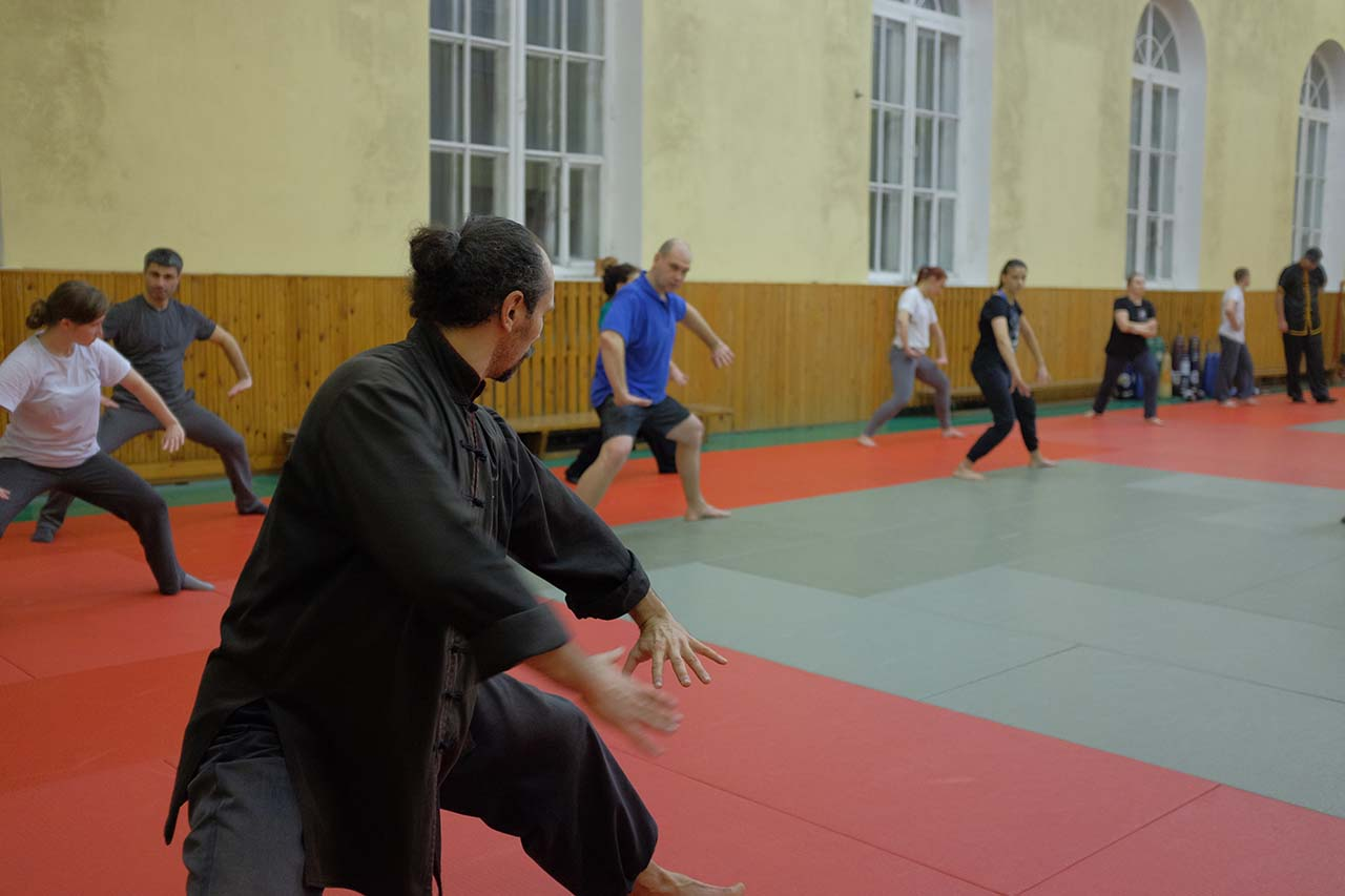 Тренировка в традиционном стиле