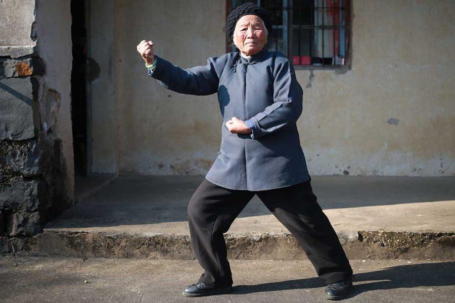 Кунг фу бабушка